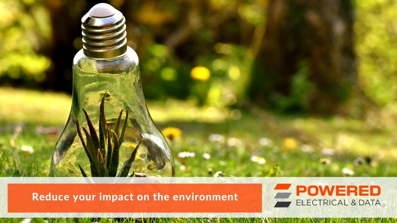 Reduce your impact on the environment