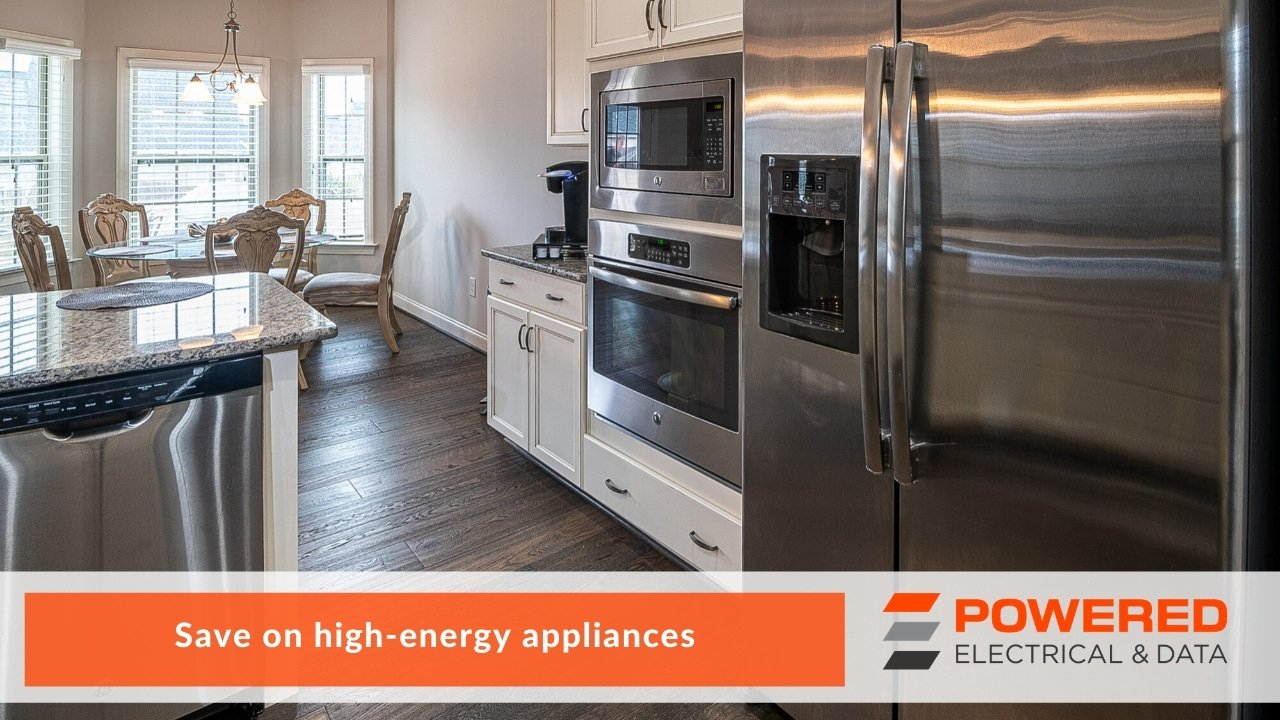Save on high-energy appliances