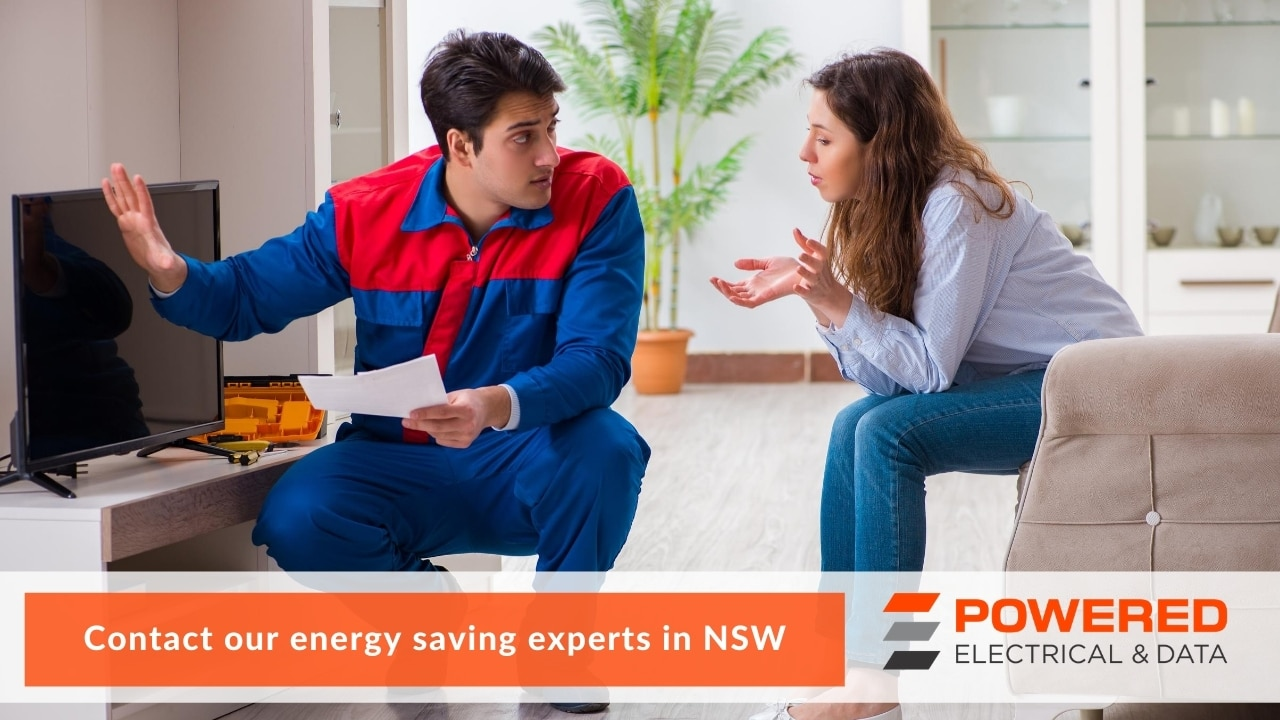 Contact our energy saving experts in NSW