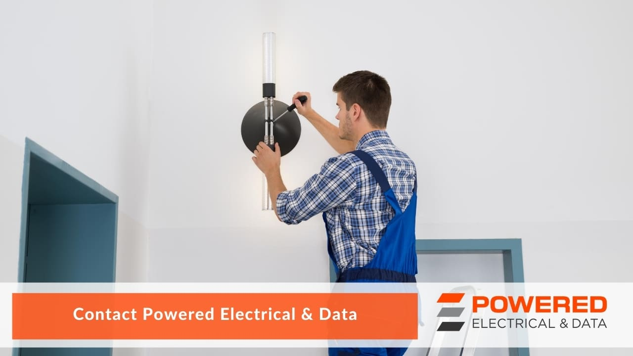 Contact Powered Electrical & Data