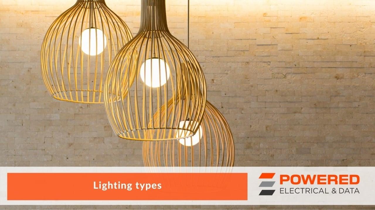 Lighting types