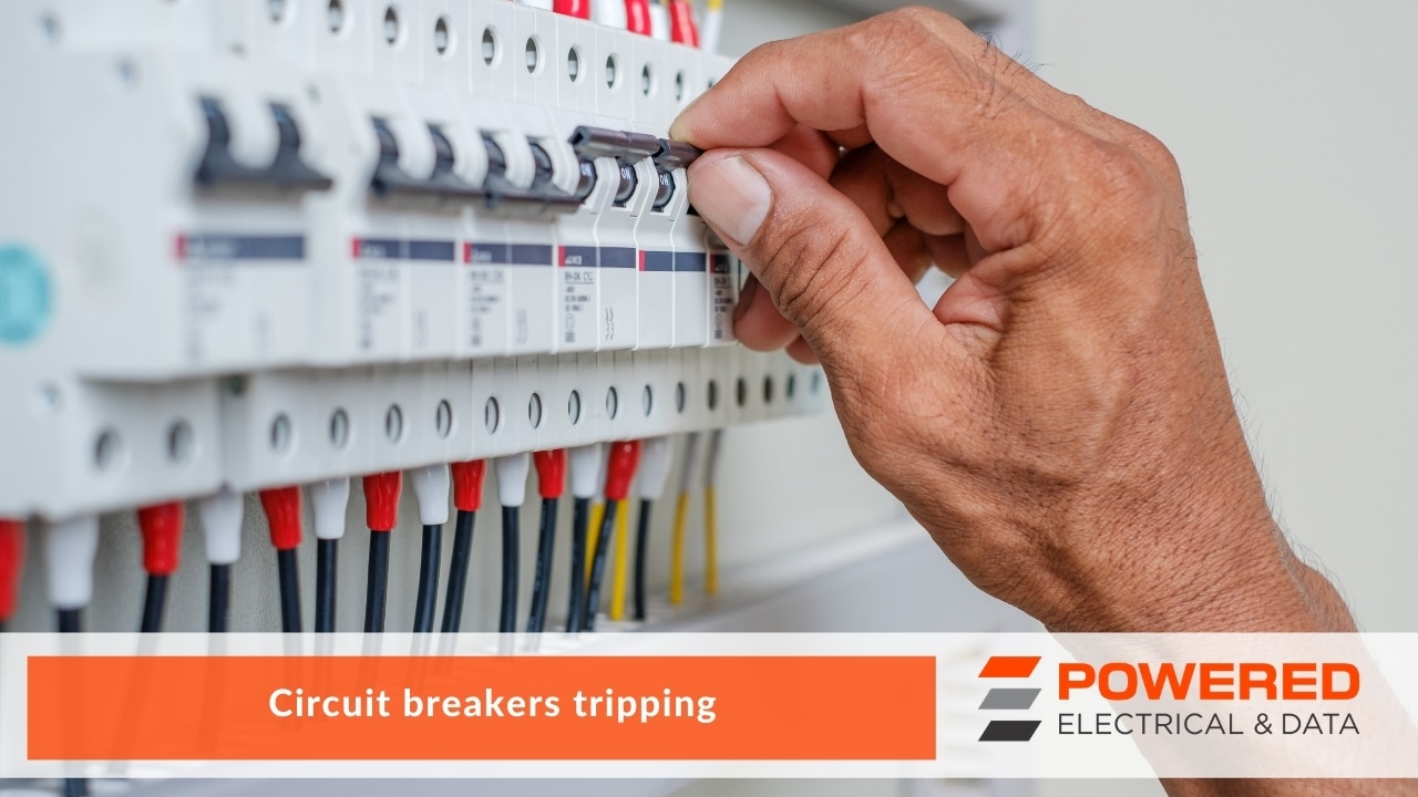 Circuit breakers tripping