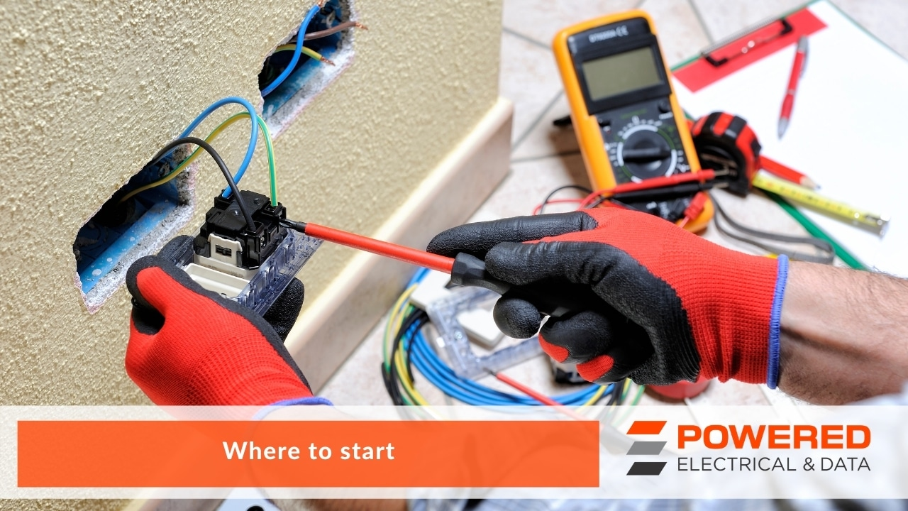 Powered Electrical and Data Electricians