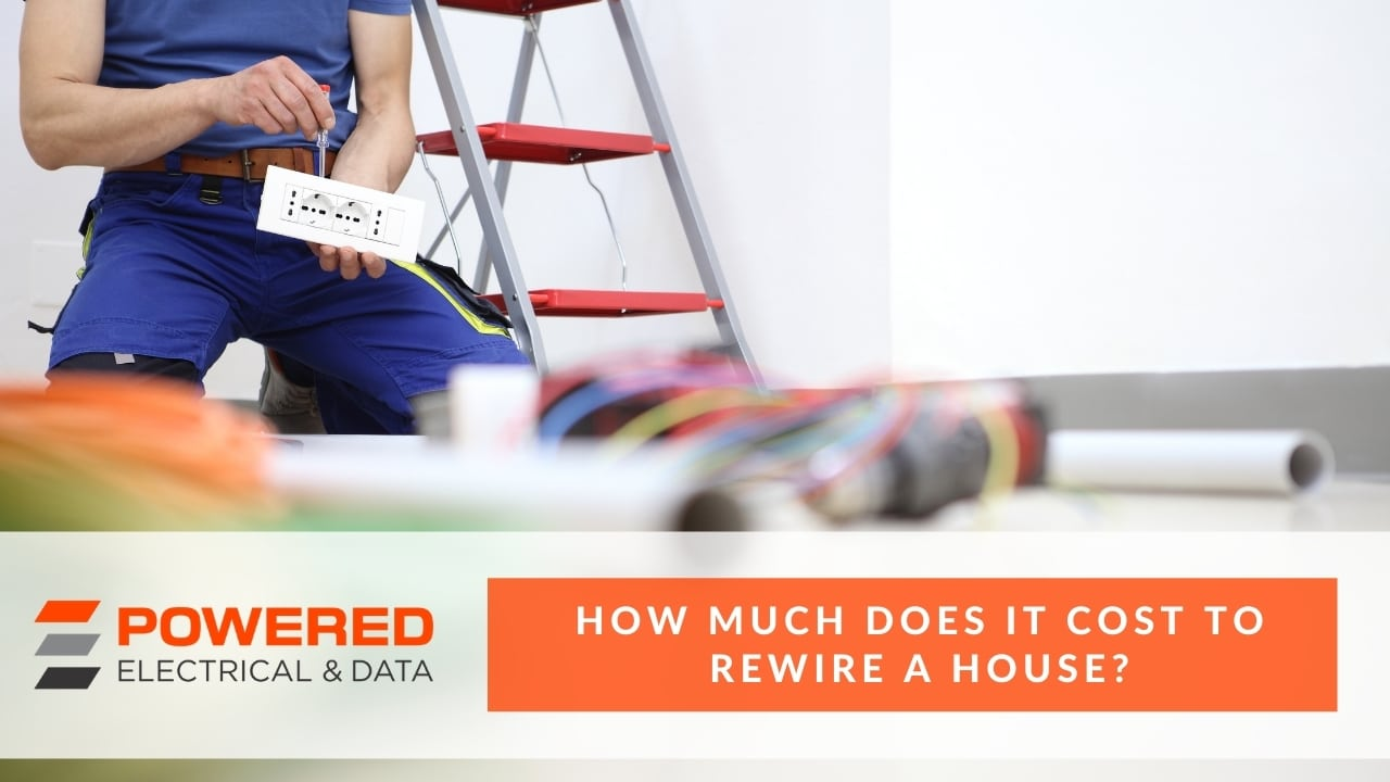 How much does it cost to rewire a house